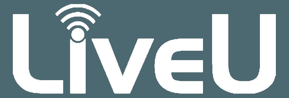 LiveU Logo - All White