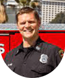 Captain Mike Flynn, LAFD Fire Communications Dispatch Section.