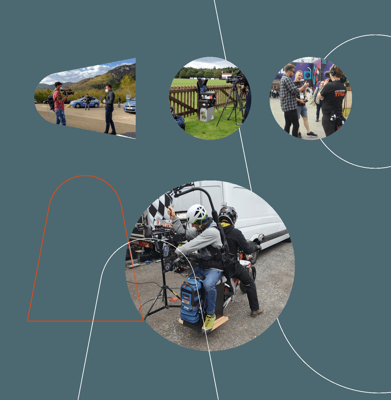 La máxima movilidad para la transmisión de video en vivo